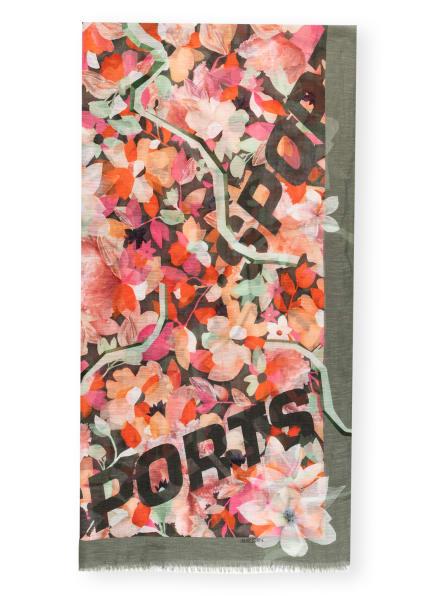 MARC CAIN Schal mit Leinen, Farbe: 476 goldfish (Bild 1)