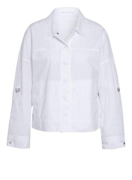 MARC CAIN Kastenjacke, Farbe: 100 WHITE (Bild 1)