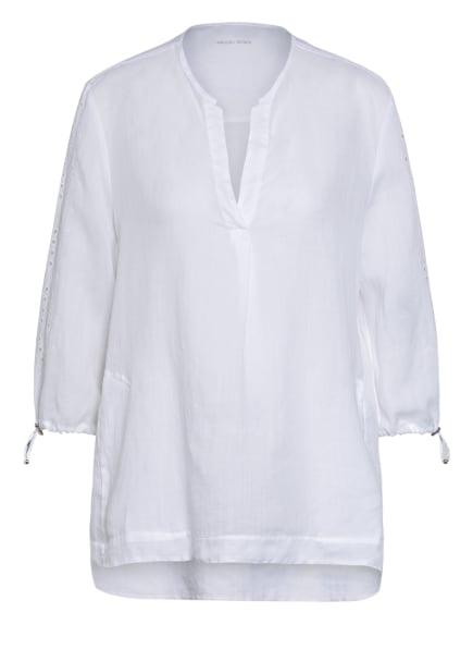 MARC CAIN Blusenshirt mit 3/4-Arm, Farbe: 100 WHITE (Bild 1)