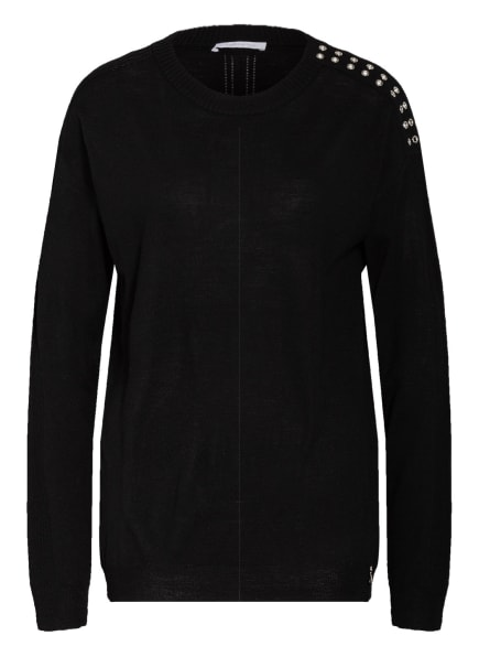 PATRIZIA PEPE Pullover, Farbe: SCHWARZ (Bild 1)