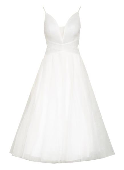 MASCARA Abendkleid mit Stola, Farbe: WEISS/ SILBER (Bild 1)