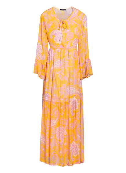ana alcazar Kleid mit 3/4-Arm , Farbe: DUNKELGELB/ ROSA/ ECRU (Bild 1)