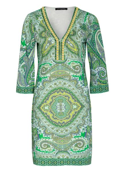 ana alcazar Kleid mit 3/4-Arm und Perlen-und Schmucksteinbesatz , Farbe: GRÜN/ BLAU/ WEISS (Bild 1)