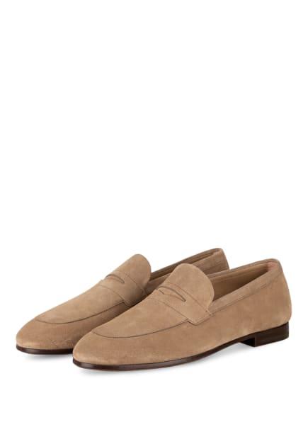 BOSS Loafer SOHO, Farbe: BEIGE (Bild 1)