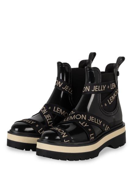 LEMON JELLY Chelsea-Boots FRANCESCA mit Zitronenduft, Farbe: SCHWARZ (Bild 1)