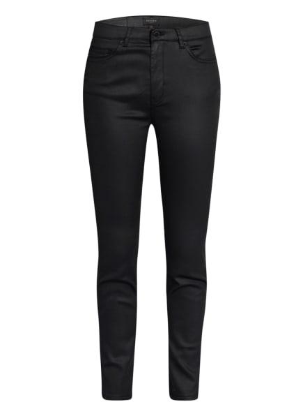 TED BAKER Skinny Jeans LETHARA mit Beschichtung, Farbe: SCHWARZ (Bild 1)