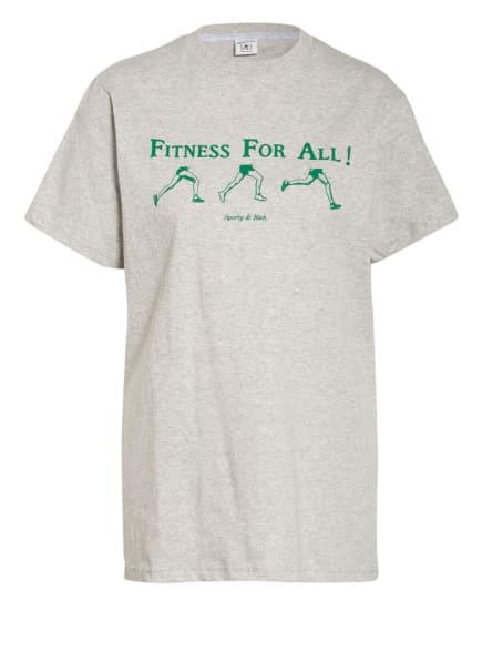 SPORTY & RICH T-Shirt, Farbe: HELLGRAU (Bild 1)