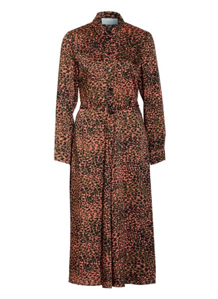 damsel in a dress Hemdblusenkleid MAYUMI, Farbe: SCHWARZ/ OLIV/ LACHS (Bild 1)