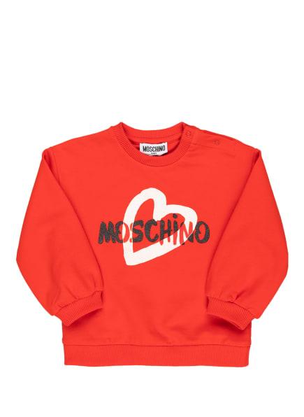 MOSCHINO Sweatshirt, Farbe: ROT (Bild 1)