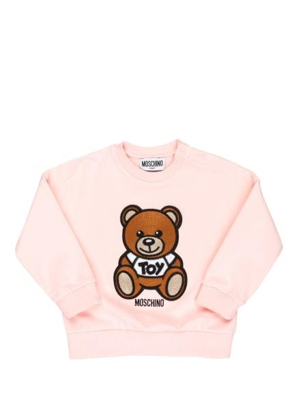 MOSCHINO Sweatshirt, Farbe: ROSA/ HELLBRAUN/ SCHWARZ (Bild 1)