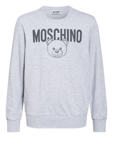MOSCHINO Sweatshirt, Farbe: GRAU/ HELLGRAU/ WEISS (Bild 1)