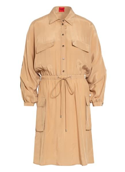 HUGO Kleid KESAKA, Farbe: BEIGE (Bild 1)