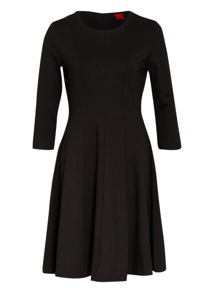 HUGO Jerseykleid DIAMANDA mit 3/4-Arm, Farbe: SCHWARZ (Bild 1)