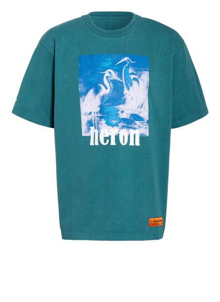 HERON PRESTON T-Shirt , Farbe: GRÜN/ BLAU (Bild 1)