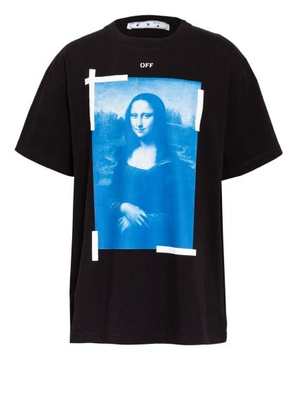 Off-White Oversized-Shirt, Farbe: SCHWARZ/ BLAU/ WEISS (Bild 1)