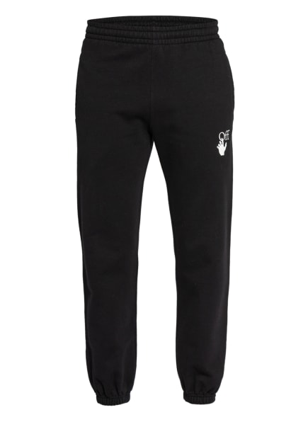 Off-White Sweatpants, Farbe: SCHWARZ/ LILA/ ORANGE (Bild 1)