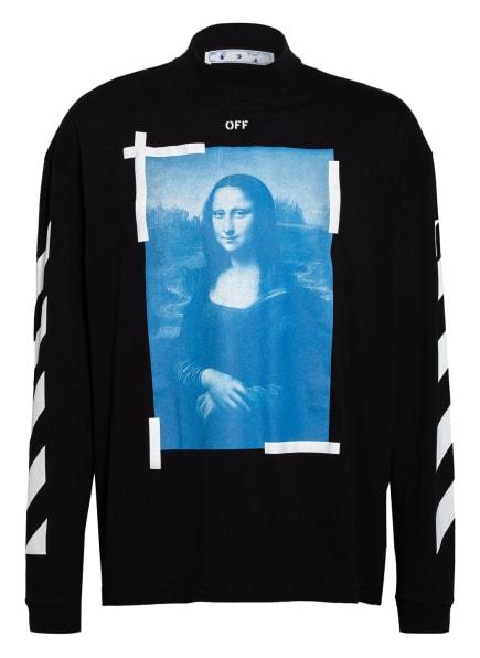 Off-White Sweatshirt, Farbe: SCHWARZ/ BLAU/ WEISS (Bild 1)