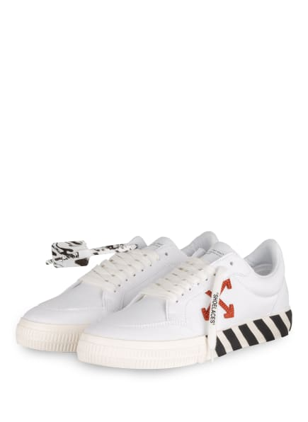 Off-White Sneaker, Farbe: WEISS/ BRAUN/ SCHWARZ (Bild 1)