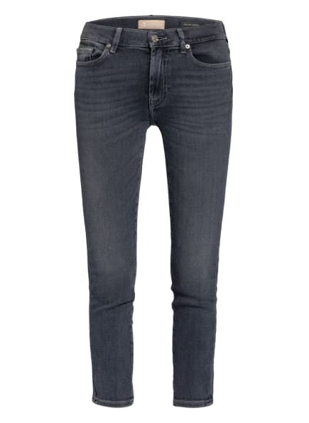 7 for all mankind 7/8-Jeans ROXANNE ANKLE, Farbe: Luxe Vintage Moonwalk GREY (Bild 1)