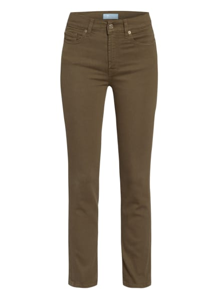 7 for all mankind 7/8-Jeans ROXANNE ANKLE, Farbe: Colored Bair GREEN (Bild 1)
