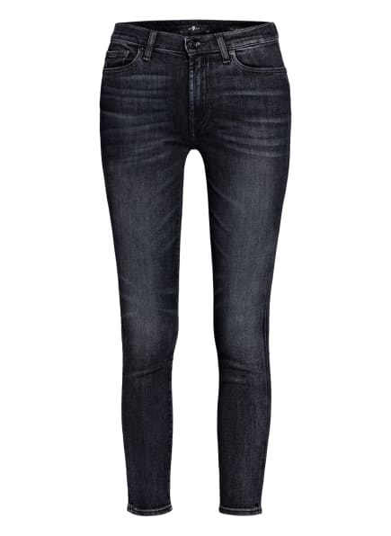 7 for all mankind Skinny Jeans, Farbe: Slim Illusion Lights Out BLACK (Bild 1)