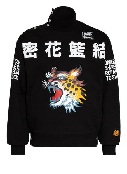 KENZO Sweathshirt TIGER, Farbe: SCHWARZ/ WEISS (Bild 1)