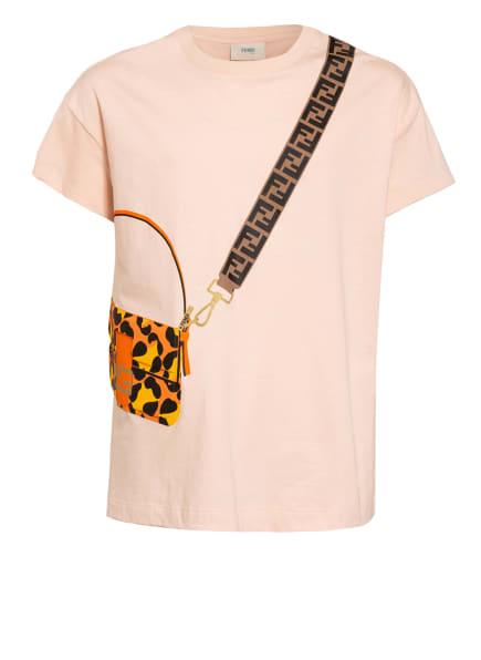 FENDI T-Shirt, Farbe: HELLORANGE (Bild 1)