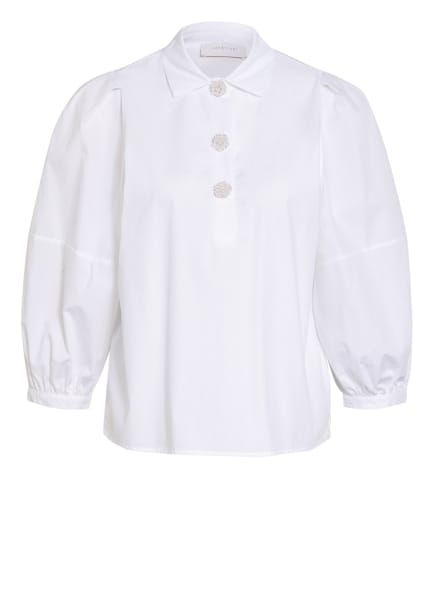 rich&royal Blusenshirt mit 3/4-Arm, Farbe: WEISS (Bild 1)