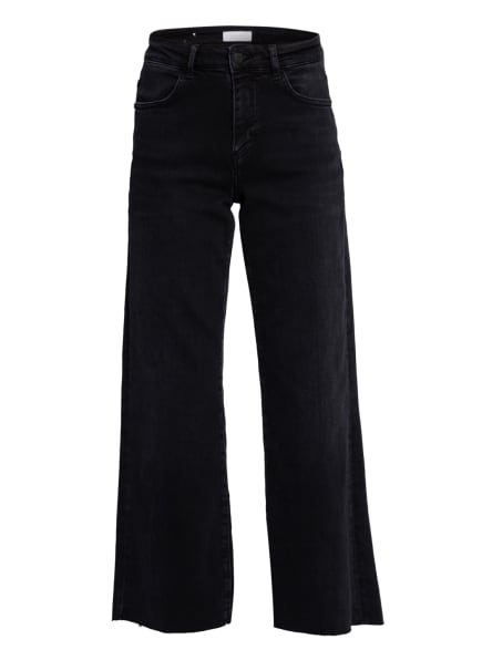 rich&royal Jeans-Culotte, Farbe: 900 DENIM BLACK (Bild 1)