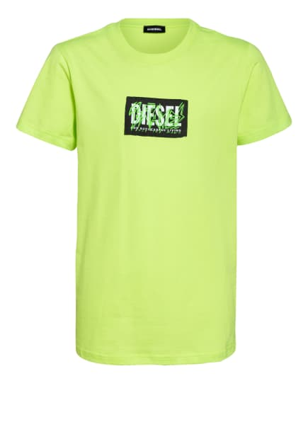 DIESEL T-Shirt, Farbe: NEONGRÜN (Bild 1)