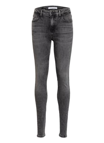 Calvin Klein Jeans Skinny Fit, Farbe: 1BY Monogram Dark Wash Grey Stretch (Bild 1)