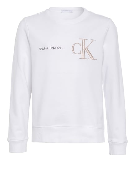 Calvin Klein Sweatshirt , Farbe: WEISS (Bild 1)