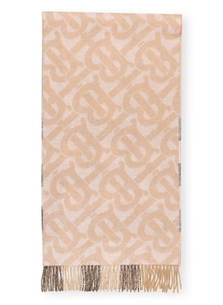 BURBERRY Cashmere-Schal, Farbe: SCHWARZ/ BEIGE (Bild 1)