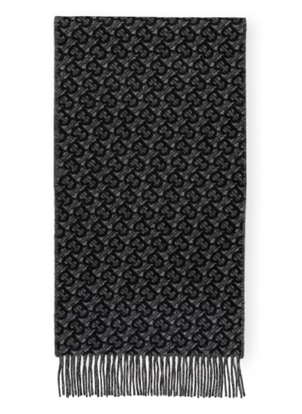 BURBERRY Cashmere-Schal, Farbe: GRAU/ SCHWARZ (Bild 1)