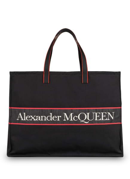 Alexander McQUEEN Shopper, Farbe: SCHWARZ/ ROT (Bild 1)