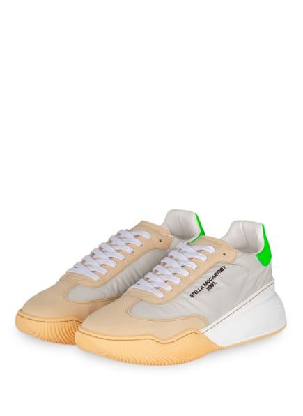 STELLA McCARTNEY Sneaker LOOP, Farbe: CREME/ GRÜN/ SCHWARZ (Bild 1)