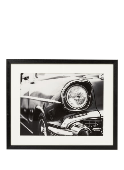 JACOB BADEN Wandbild CLASSIC CAR, Farbe: SCHWARZ (Bild 1)