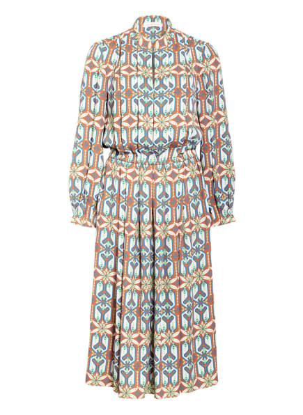 TORY BURCH Kleid, Farbe: BRAUN/ ECRU/ HELLGRÜN (Bild 1)