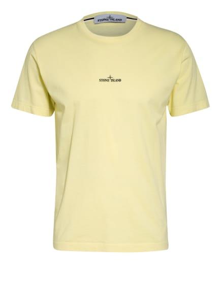 STONE ISLAND T-Shirt , Farbe: HELLGELB/ SCHWARZ (Bild 1)