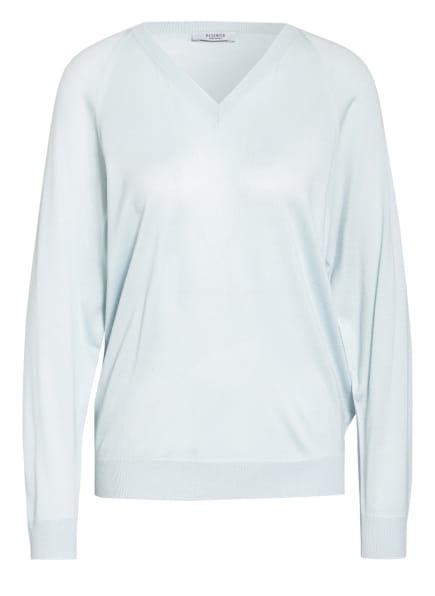 PESERICO Pullover mit Seide, Farbe: HELLBLAU (Bild 1)