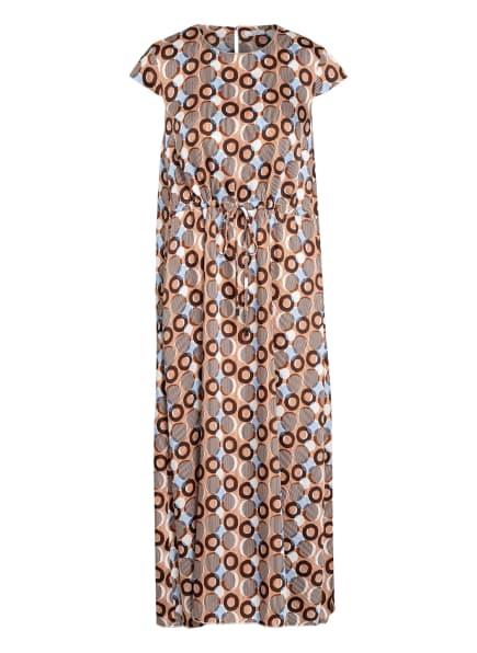 PESERICO Kleid, Farbe: BRAUN/ WEISS/ BLAU (Bild 1)
