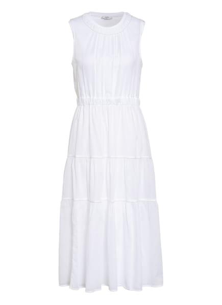 PESERICO Kleid mit Schmucksteinbesatz, Farbe: WEISS (Bild 1)