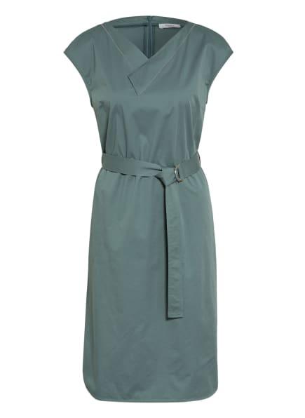 PESERICO Kleid mit Schmucksteinbesatz, Farbe: GRÜN (Bild 1)