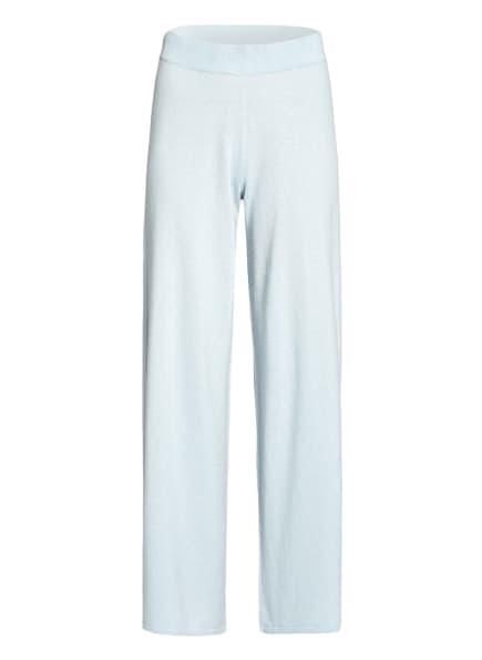 (THE MERCER) N.Y. Strickhose aus Cashmere, Farbe: HELLBLAU (Bild 1)