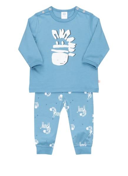 Sanetta Schlafanzug, Farbe: HELLBLAU/ WEISS (Bild 1)