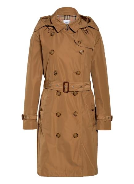 BURBERRY Trenchcoat KENSINGTON, Farbe: CAMEL (Bild 1)