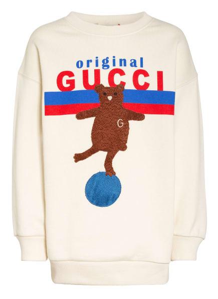 GUCCI Sweatshirt, Farbe: ECRU/ BLAU/ ROT (Bild 1)