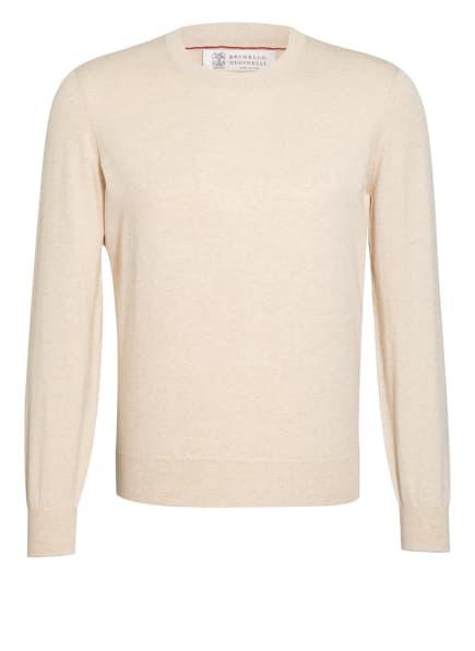 BRUNELLO CUCINELLI Pullover, Farbe: BEIGE (Bild 1)