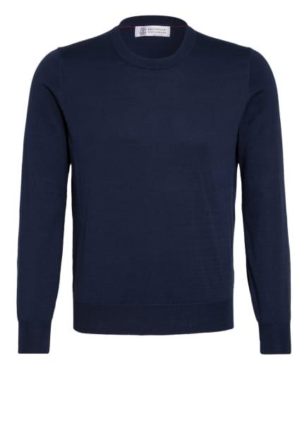 BRUNELLO CUCINELLI Pullover, Farbe: DUNKELBLAU (Bild 1)
