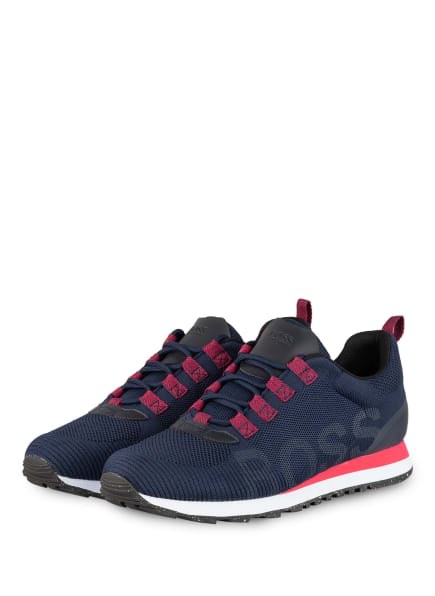 BOSS Sneaker PARKOUR , Farbe: DUNKELBLAU (Bild 1)